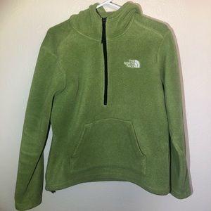 The North Face fleece hoodie